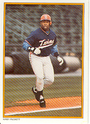 1987 Topps Glossy Send-Ins Baseball Cards      057      Kirby Puckett