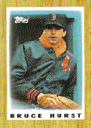 1987 Topps Mini Leaders Baseball Cards 043      Bruce Hurst