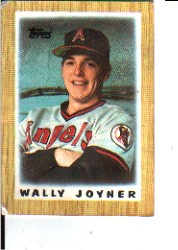1987 Topps Mini Leaders Baseball Cards 045      Wally Joyner