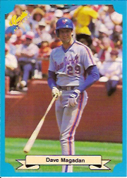1988 Classic Blue Baseball Cards       230     Dave Magadan