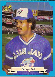 1988 Classic Blue Baseball Cards       242     George Bell