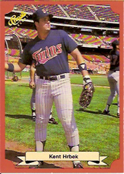 1988 Classic Red Baseball Cards        192     Kent Hrbek
