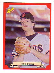 1988 Classic Red Baseball Cards        194     Kelly Downs