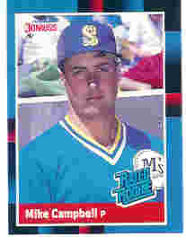 1988 Donruss Baseball Cards    030      Mike Campbell RR