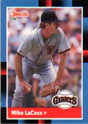 1988 Donruss Baseball Cards    436     Mike LaCoss
