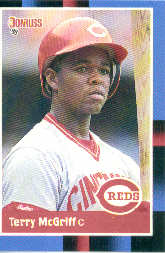 1988 Donruss Baseball Cards    556     Terry McGriff