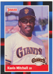 1988 Donruss Baseball Cards    066      Kevin Mitchell