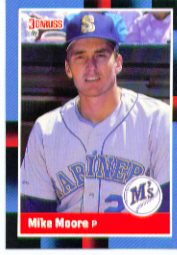 1988 Donruss Baseball Cards    075      Mike Moore