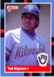 1988 Donruss Baseball Cards    090      Ted Higuera