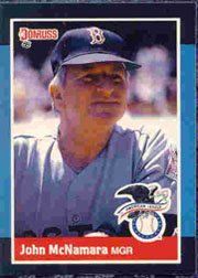 1988 Donruss All-Stars Baseball Cards  010      John McNamara MG