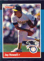 1988 Donruss All-Stars Baseball Cards  011      Jay Howell