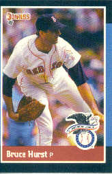 1988 Donruss All-Stars Baseball Cards  014      Bruce Hurst
