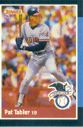 1988 Donruss All-Stars Baseball Cards  017      Pat Tabler