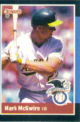 1988 Donruss All-Stars Baseball Cards  019      Mark McGwire
