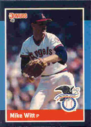 1988 Donruss All-Stars Baseball Cards  020      Mike Witt