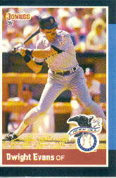 1988 Donruss All-Stars Baseball Cards  023      Dwight Evans