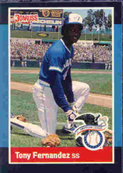 1988 Donruss All-Stars Baseball Cards  025      Tony Fernandez