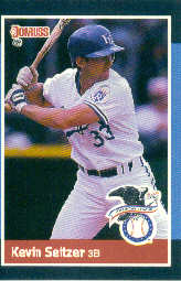 1988 Donruss All-Stars Baseball Cards  027      Kevin Seitzer