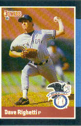1988 Donruss All-Stars Baseball Cards  029      Dave Righetti
