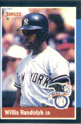 1988 Donruss All-Stars Baseball Cards  003      Willie Randolph