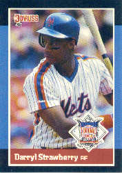 1988 Donruss All-Stars Baseball Cards  034      Darryl Strawberry