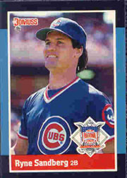 1988 Donruss All-Stars Baseball Cards  035      Ryne Sandberg