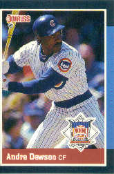 1988 Donruss All-Stars Baseball Cards  036      Andre Dawson