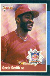 1988 Donruss All-Stars Baseball Cards  037      Ozzie Smith