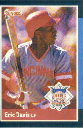 1988 Donruss All-Stars Baseball Cards  038      Eric Davis