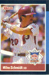 1988 Donruss All-Stars Baseball Cards  039      Mike Schmidt
