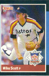 1988 Donruss All-Stars Baseball Cards  040      Mike Scott