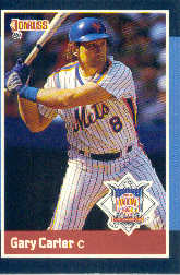 1988 Donruss All-Stars Baseball Cards  041      Gary Carter