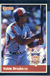 1988 Donruss All-Stars Baseball Cards  045      Hubie Brooks