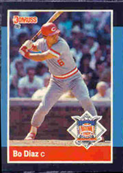 1988 Donruss All-Stars Baseball Cards  047      Bo Diaz