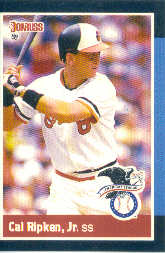 1988 Donruss All-Stars Baseball Cards  005      Cal Ripken
