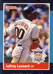 1988 Donruss All-Stars Baseball Cards  054      Jeffrey Leonard