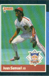 1988 Donruss All-Stars Baseball Cards  055      Juan Samuel