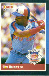 1988 Donruss All-Stars Baseball Cards  057      Tim Raines
