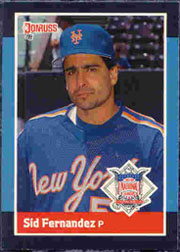1988 Donruss All-Stars Baseball Cards  058      Sid Fernandez