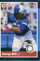 1988 Donruss All-Stars Baseball Cards  006      George Bell