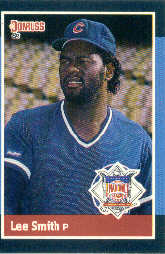 1988 Donruss All-Stars Baseball Cards  060      Lee Smith