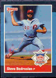 1988 Donruss All-Stars Baseball Cards  061      Steve Bedrosian