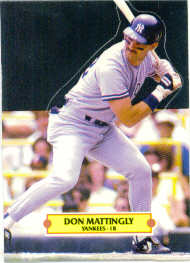 1988 Donruss Pop-Ups Baseball Cards    001      Don Mattingly