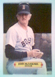 1988 Donruss Pop-Ups Baseball Cards    010      John McNamara MG