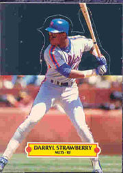 1988 Donruss Pop-Ups Baseball Cards    012      Darryl Strawberry