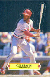 1988 Donruss Pop-Ups Baseball Cards    015      Ozzie Smith