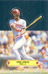 1988 Donruss Pop-Ups Baseball Cards    016      Eric Davis
