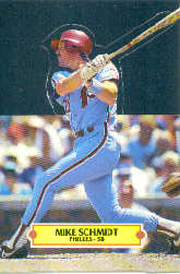 1988 Donruss Pop-Ups Baseball Cards    017      Mike Schmidt