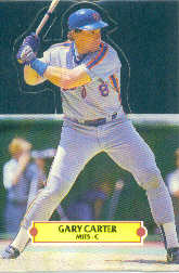 1988 Donruss Pop-Ups Baseball Cards    019      Gary Carter