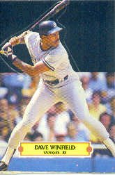 1988 Donruss Pop-Ups Baseball Cards    002      Dave Winfield